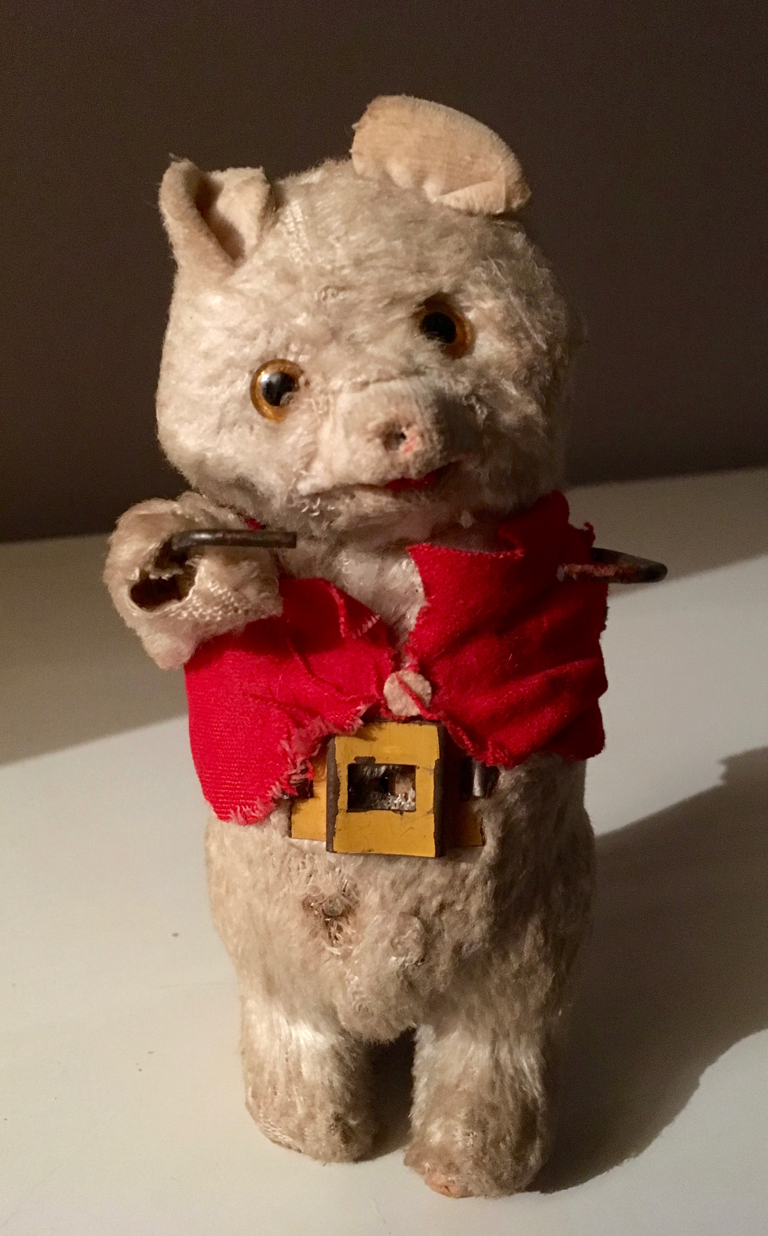 wind up teddy bear without drums