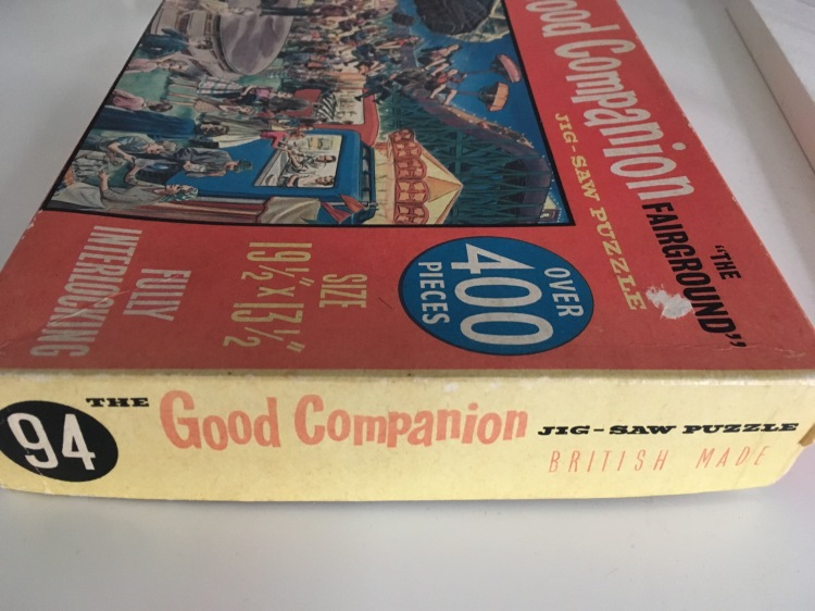 The Good Companion jig-saw puzzle