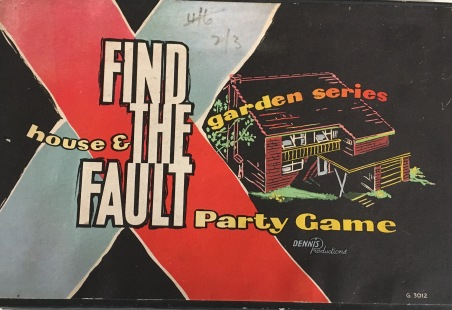 FindTheFault-Party Game box