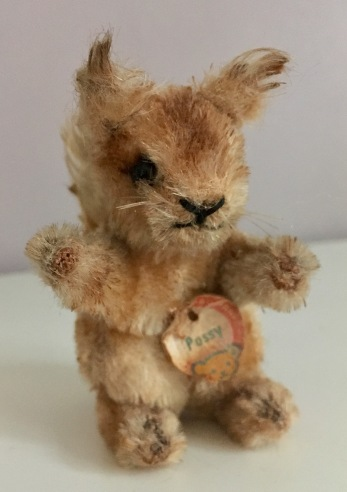 Possy -squirrel made by Steiff in the 50s/60s
