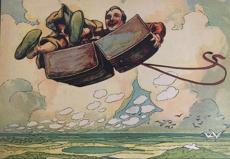 flying trunk - danish