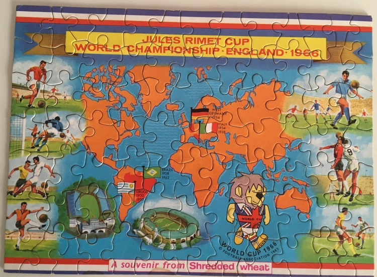 World Cup 1966 Puzzle