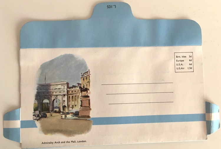 Envelope - Admiralty Arch