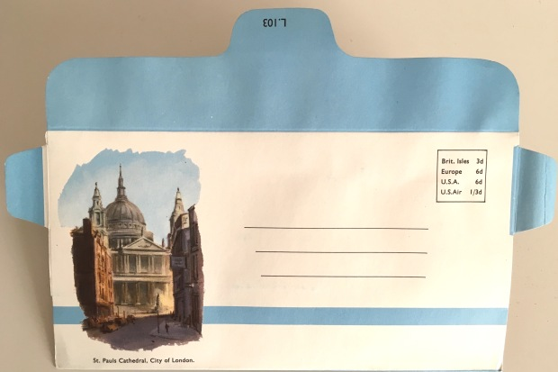 Envelope - St Paul's Cathedral