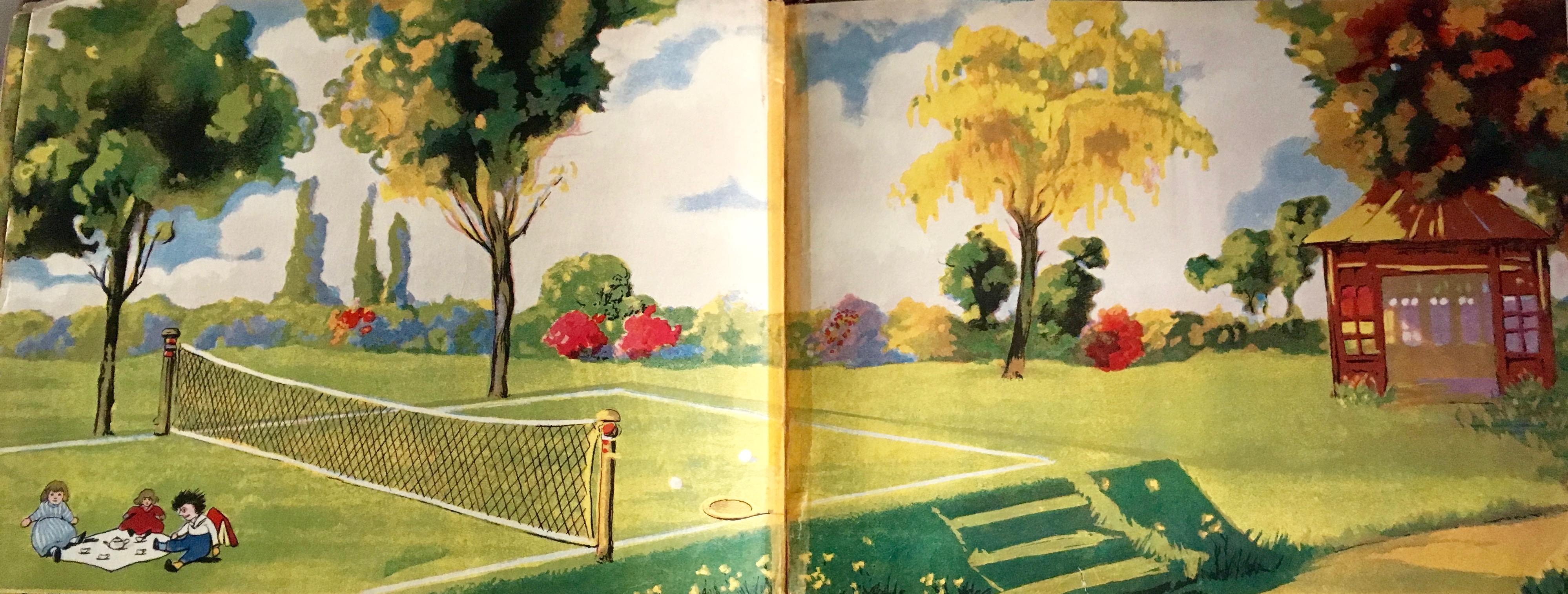 tennis lawn