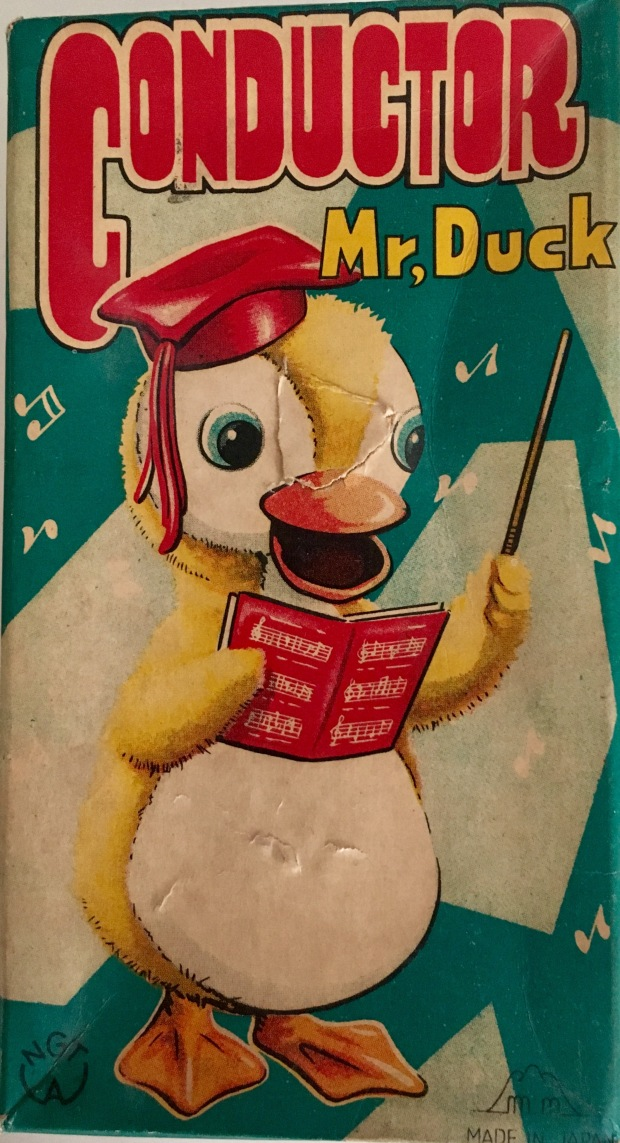 box cover of Mr Duck