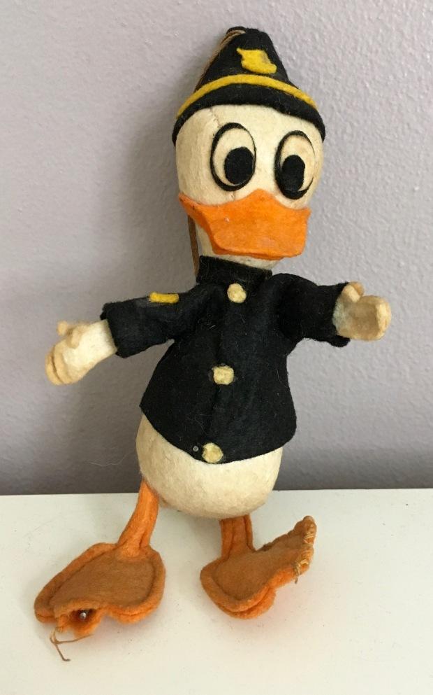 Felt Donald Duck