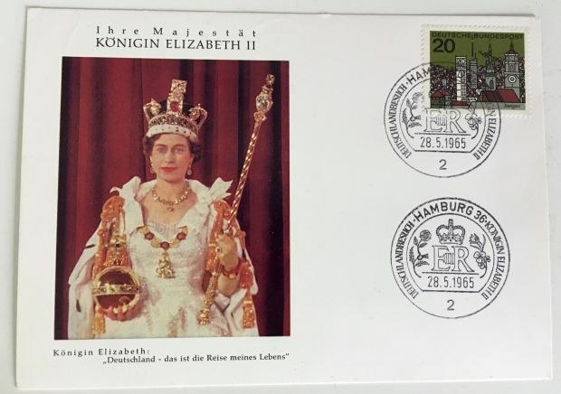 Queen Elizabeth in Germany 1965