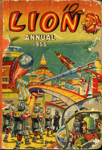 Lion Annual 1955 and 1956 — Dreams of Space – Books and Ephemera