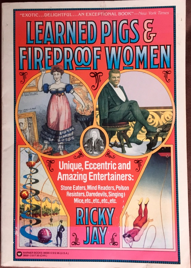 cover of 'Learned Pigs & Fireproof Women'