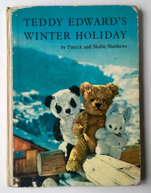 book cover of Teddy Edward's Winter Holiday